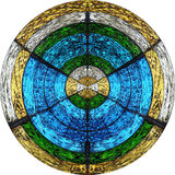 Divine o círculo Imagem de Stock