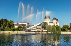 Divine rainbow royalty free stock photos