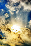 Divine sky stock photo