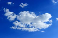 Divine sky with cloud Stock Photos