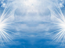 Divine sky Royalty Free Stock Photo