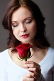 Divine smell Royalty Free Stock Image