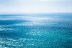 Beautiful seascape in the Atlantic ocean Royalty Free Stock Photo