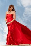 Divine woman royalty free stock photography