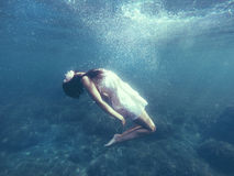 diving Imagem de Stock Royalty Free