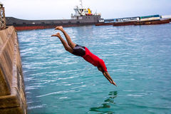diving Fotografia de Stock Royalty Free