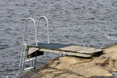 Diving Board Stock Image