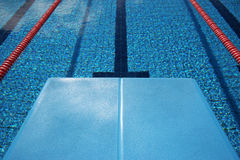 Diving board royalty free stock images