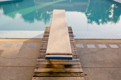 Diving Board Stock Photo