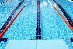 Diving boards Stock Images