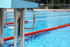 Diving boards Royalty Free Stock Photos