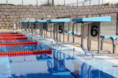 Diving boards Stock Photo