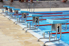 Diving boards Stock Photography