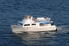 Diving boat Royalty Free Stock Photo