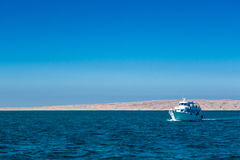 Diving boat in the Red Sea Stock Photos