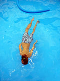 Diving Boy Royalty Free Stock Images