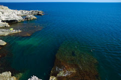 Diving Cliffs Royalty Free Stock Photos
