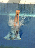 Diving competition Royalty Free Stock Images