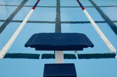 Diving competition platform Royalty Free Stock Image