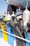 Diving equipment Stock Image
