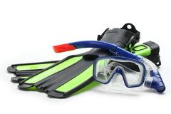 Diving equipment Stock Photo