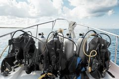 Diving equipment Royalty Free Stock Image
