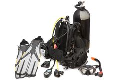 Free Diving Equipment Royalty Free Stock Image - 5158286