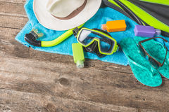 Diving equipment Royalty Free Stock Photography