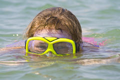 Diving goggles Royalty Free Stock Photography