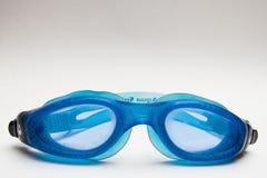 Diving goggles. Facing the camera Stock Photos