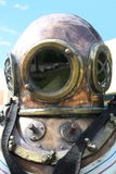 Diving helmet Stock Image