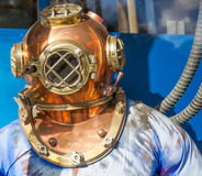 Diving Helmet Royalty Free Stock Images