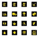 Diving icon set Stock Photos