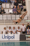 Diving Italian indoor championships Royalty Free Stock Images