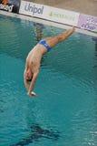 Diving Italian indoor championships Stock Photo