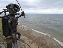 Diving Lake Baikal Stock Image