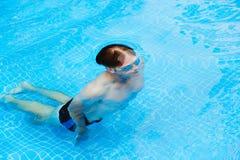 Diving man Stock Image