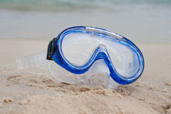 Diving mask Royalty Free Stock Images