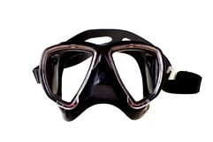 Diving mask. On white background Royalty Free Stock Photography