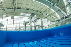 Diving pool Royalty Free Stock Photography