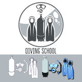 Diving School Stock Photography