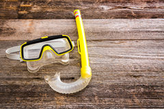 Diving stuff Royalty Free Stock Images