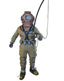 Diving suit equipment isolated over white Royalty Free Stock Photos