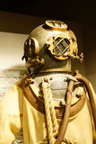 Diving suit from  1940s Royalty Free Stock Images