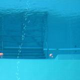Diving swimming pool Stock Photography