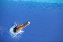 Diving into the water Stock Photography