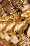 Divinidad alineada del oro Fotos de archivo libres de regalías
