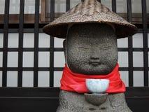 Divinité en pierre japonaise Images stock