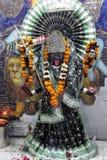 Divinity detail inside the Hanuman temple Stock Photos