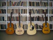 A divisão da música da biblioteca Imagens de Stock Royalty Free